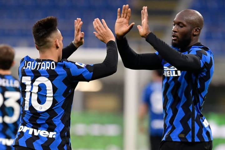Lukaku and Martinez have formed a formidable strike partnership at Inter