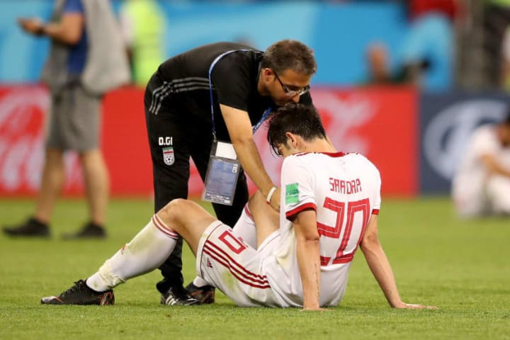 Azmoun briefly retired from international football in 2018