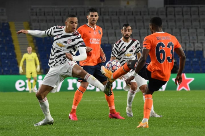 United couldn't create enough chances against Istanbul Basaksehir