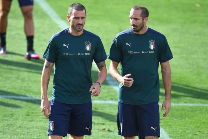 Giorgio Chiellini Leonardo Bonucci Itália Eurocopa Juventus Brasil Bronze Olimpíadas Tênis Dupla