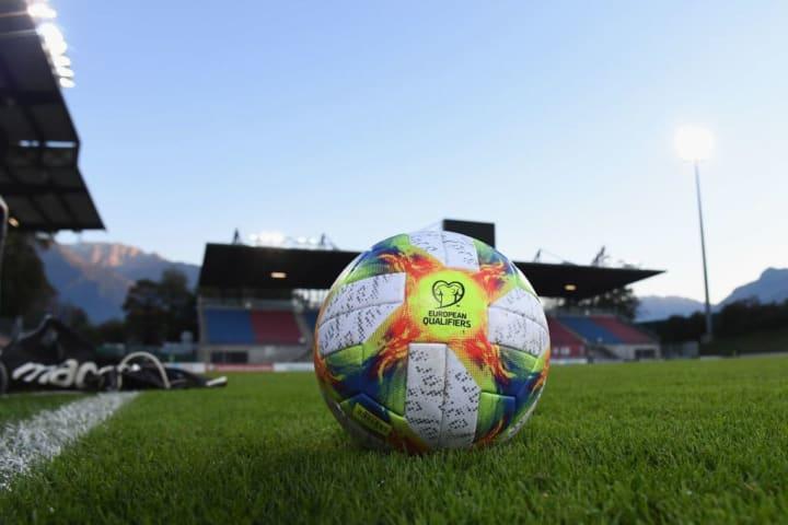 Rheinpark Stadion Liechtenstein Visual Cenário