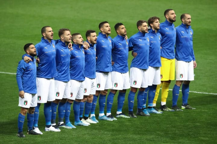Italy are looking to improve on  reaching the 2016 quarter-finals