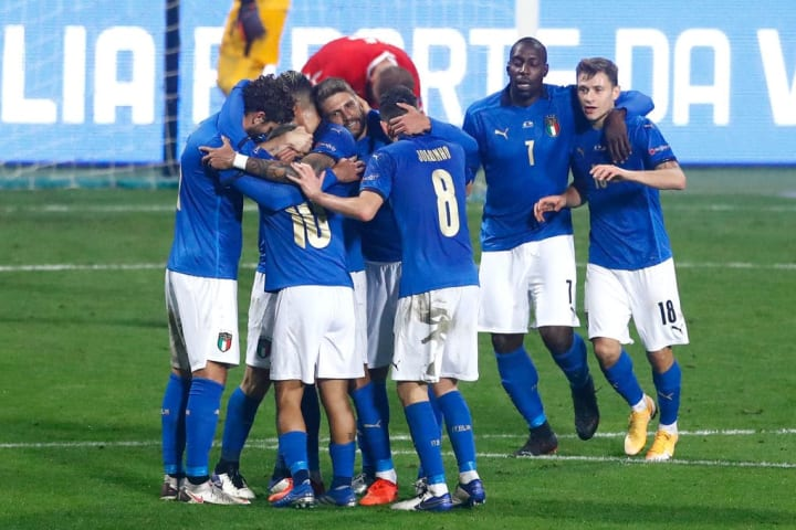 Italy have not lost since September 2018