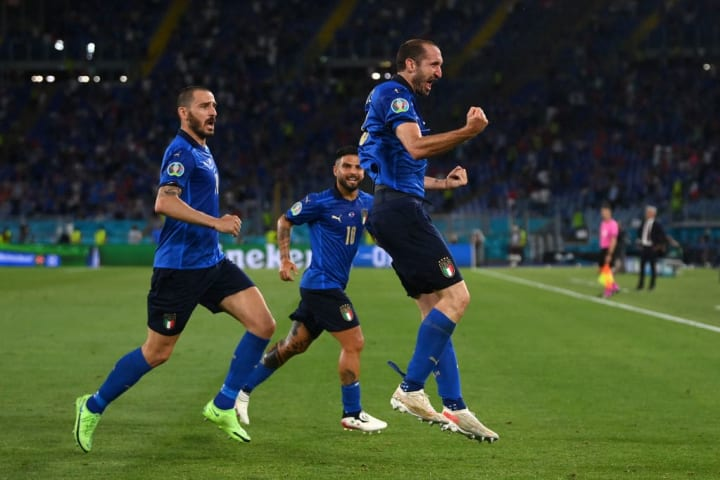 Giorgio Chiellini thought he'd opened the scoring just minutes earlier