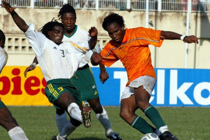 Didier Drogba, Jacob Lekgetho