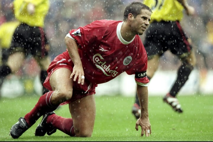 Jamie Redknapp of Liverpool