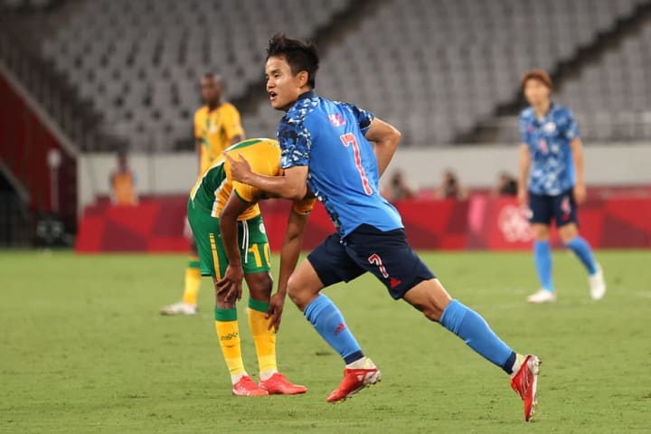 Takefusa Kubo proved to be Japan's matchwinner against South Africa