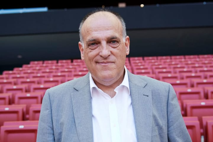 Javier Tebas has issued a warning to Barcelona