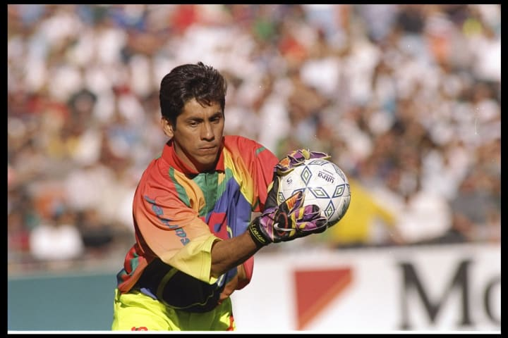 Campos' garms were as legendary as his goalkeeping ability