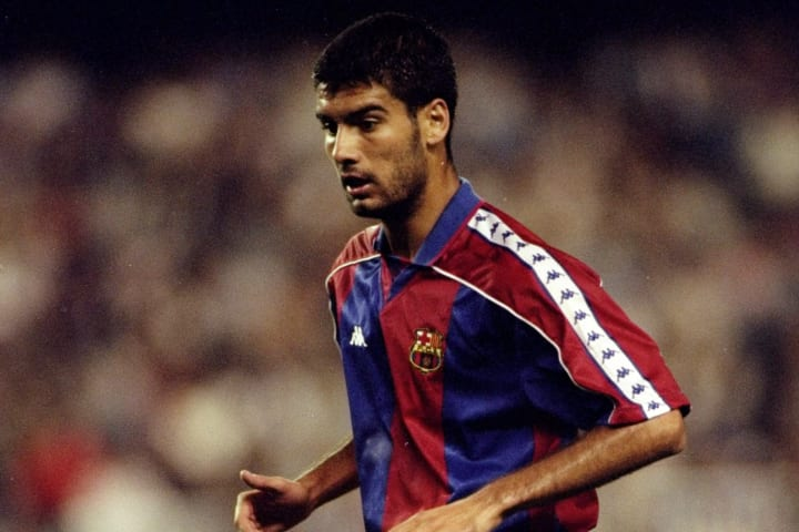 Josep Guardiola of Barcelona