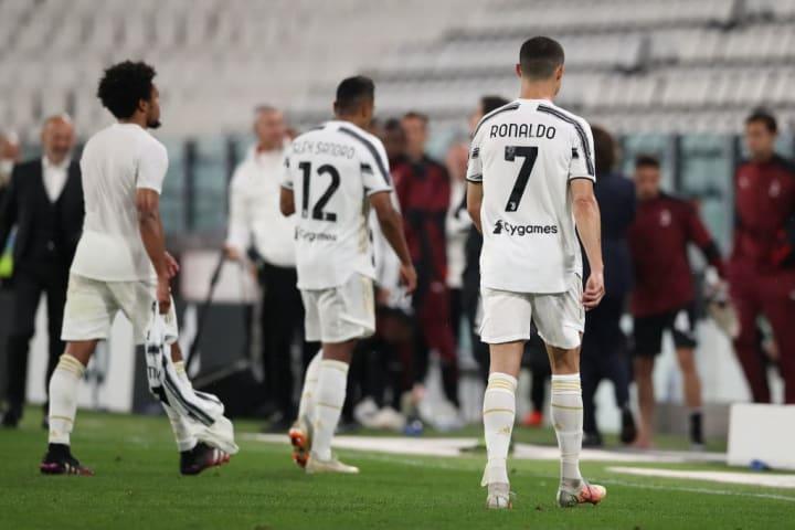 Cristiano Ronaldo, Weston McKennie, Alex Sandro