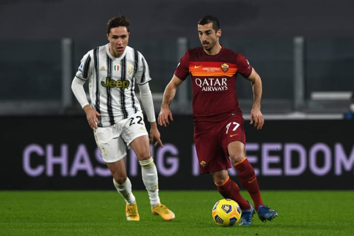 Juve await if Mkhitaryan cannot agree a new Roma contract