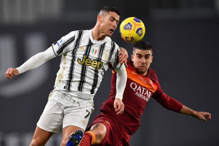 Gianluca Mancini, Cristiano Ronaldo