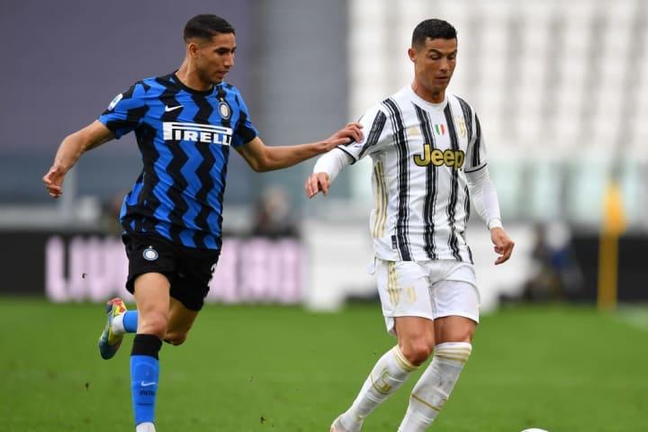 Cristiano Ronaldo, Achraf Hakimi