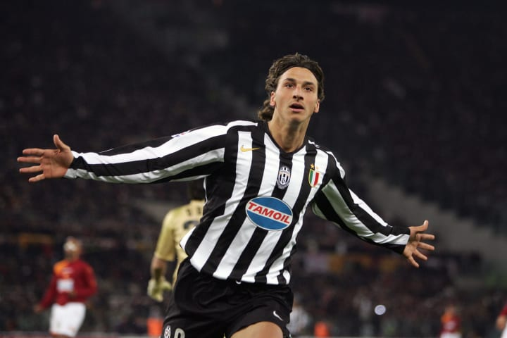 Juventus Swedish forward Zlatan Ibrahimo