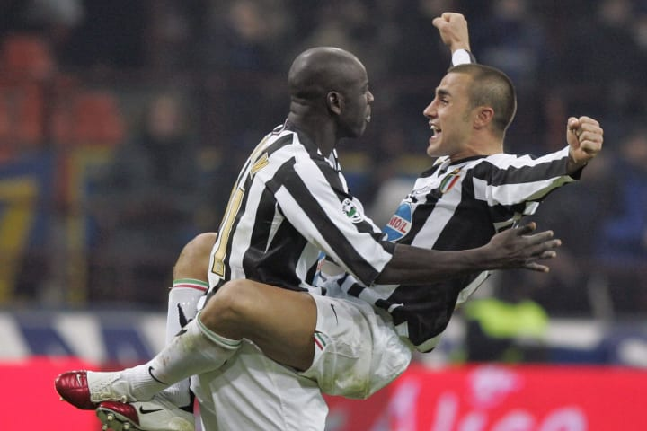 Juventus' defender Lilian Thuram of Fran