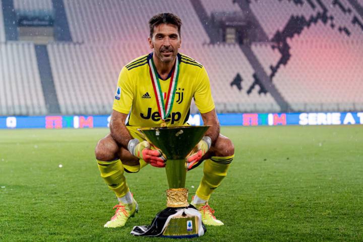 Buffon has already played over 1,000 games at club & international level