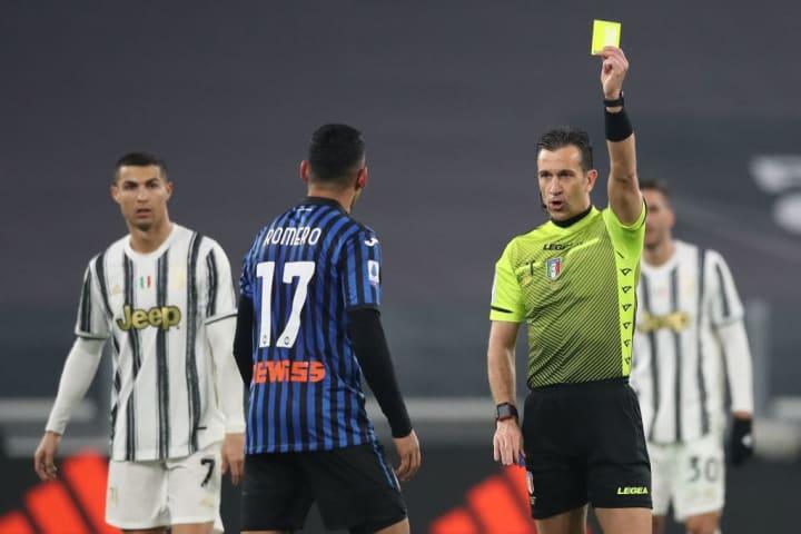 Cristiano Ronaldo, Daniele Doveri, Cristian Romero