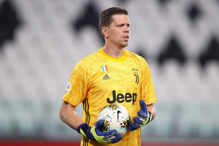 Juventus' Wojciech Sczcęsny.