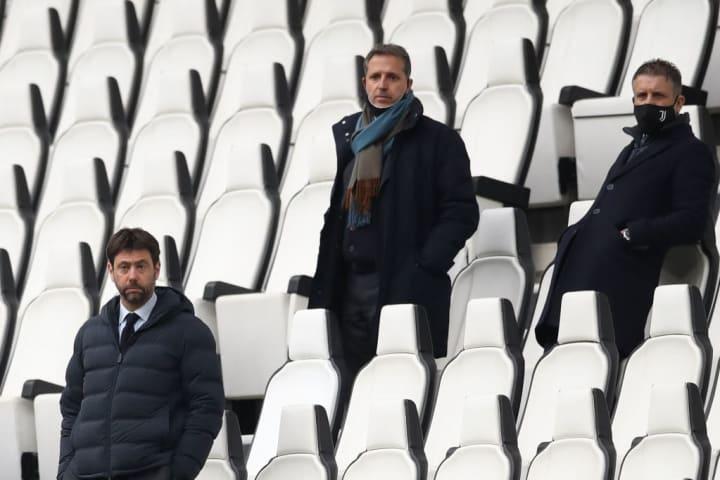 Andrea Agnelli, Fabio Paratici, Federico Cherubini