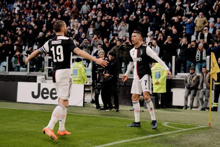 Cristiano Ronaldo, Leonardo Bonucci