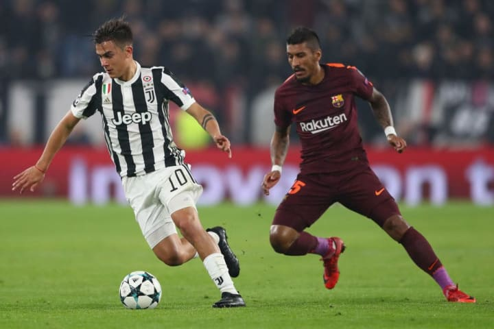 Paulo Dybala has been linked with a move to Barcelona in the past