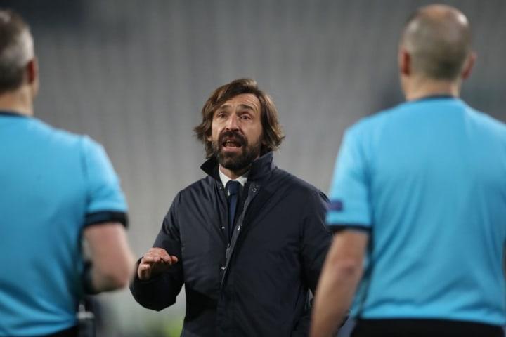 Andrea Pirlo, Bjorn Kuipers, Juventus, Champions League