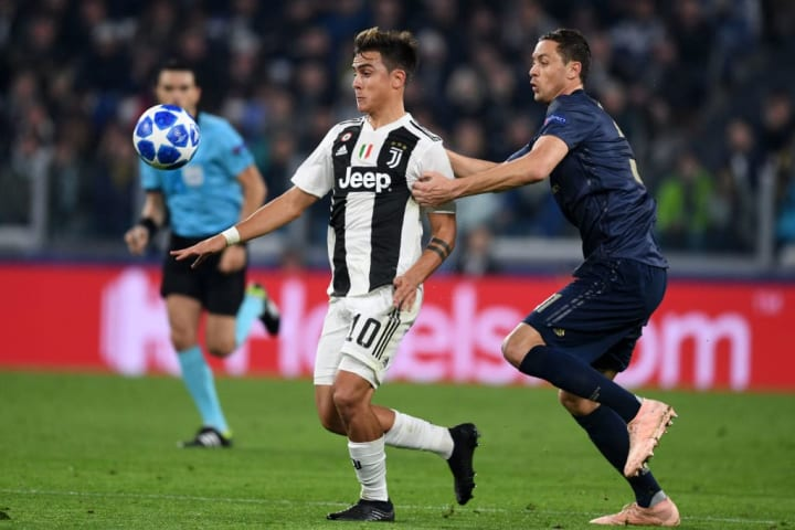 Paulo Dybala has come up against Manchester United in the Champions League previously