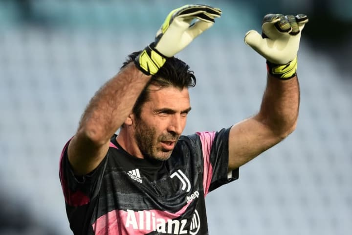 Buffon goleiro Juventus Napoli