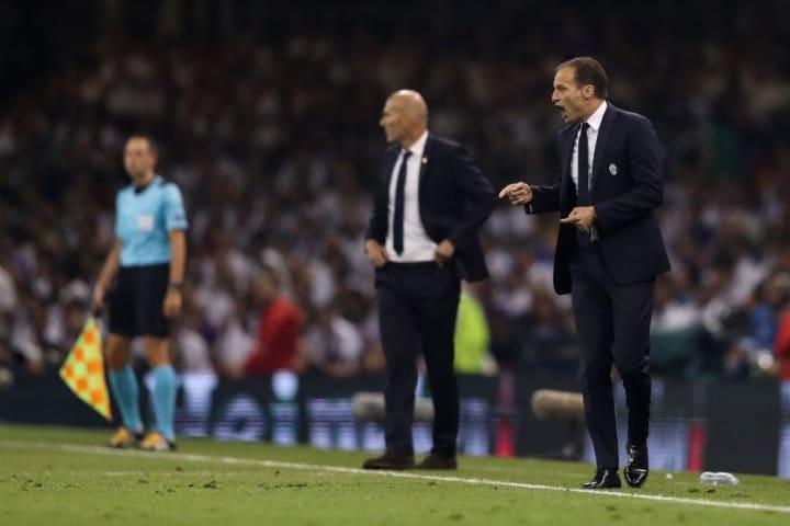 Massimiliano Allegri, Zinedine Zidane