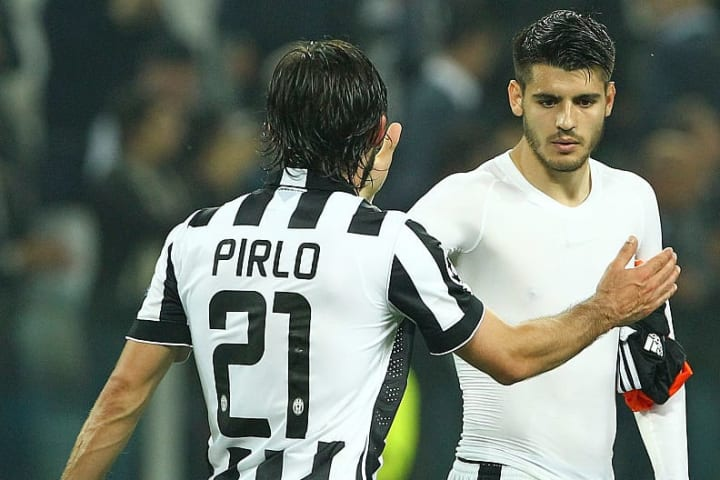 Why Andrea Pirlo Settled for Alvaro Morata in Striker Hunt