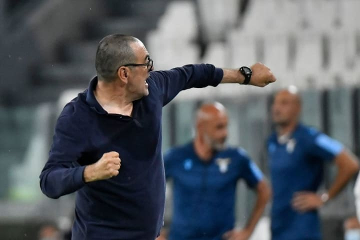 Maurizio Sarri's first season in charge has ended with his maiden Serie A title win