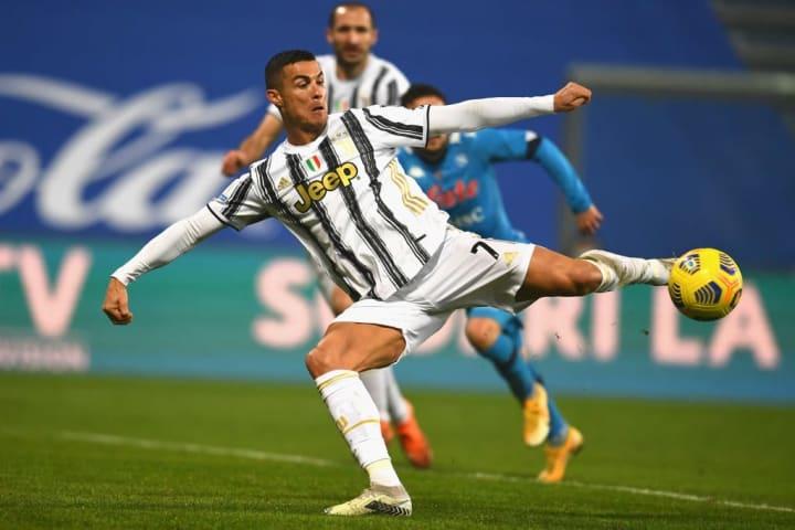 Ronaldo got the 760th goal against Napoli