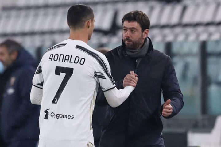 Cristiano Ronaldo, Andrea Agnelli