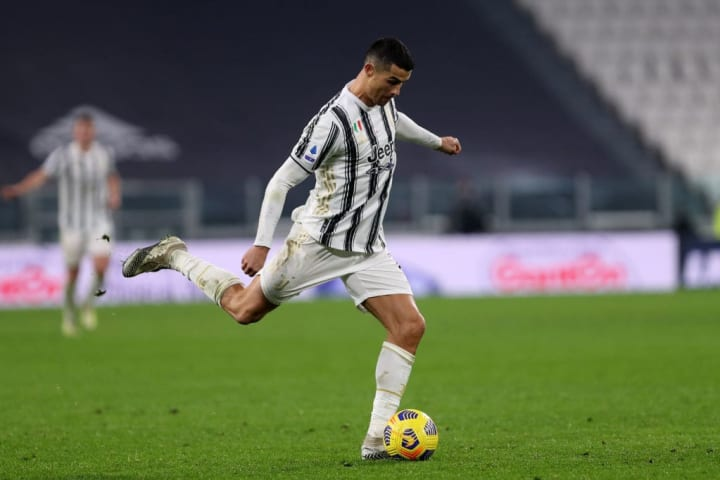 Cristiano Ronaldo was forced to miss the first game against Barcelona after testing positive for COVID-19