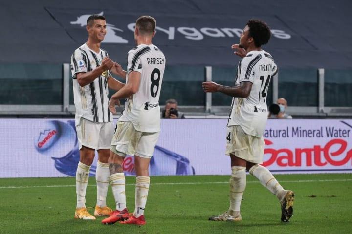 Aaron Ramsey - Soccer Player, Weston McKennie, Cristiano Ronaldo - Soccer Player