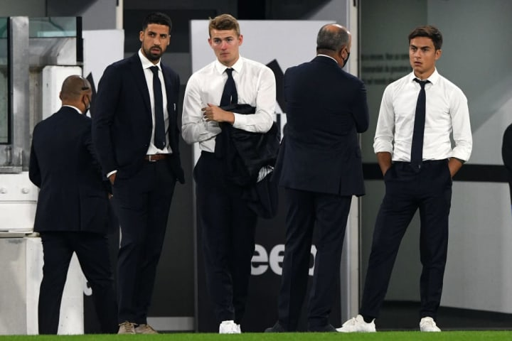 The German (L) is yet to appear for Juve this term