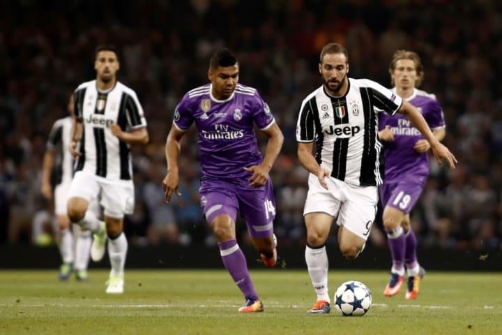 Juventus vs Real Madrid : UEFA Champions League