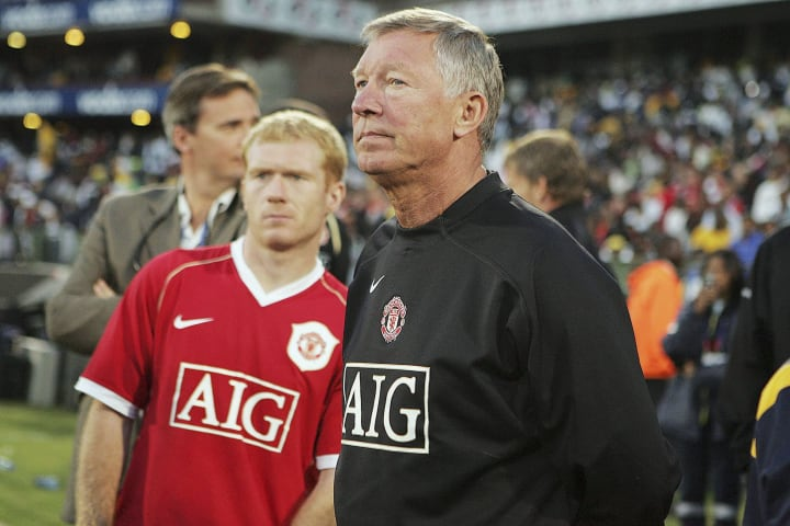 Alex Ferguson, Paul Scholes
