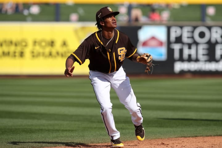 CJ Abrams will not be able to debut in the 2021 Major League campaign with the San Diego Padres due to a shin injury