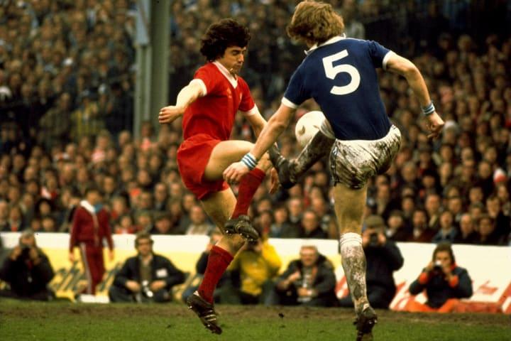 Kevin Keegan of Liverpool