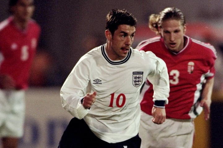 Kevin Phillips only won eight caps for the Three Lions