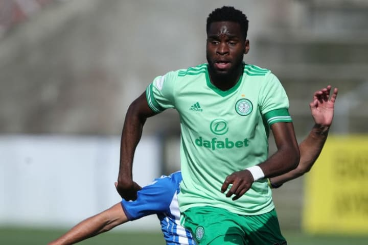 Celtic have slapped a £30m price tag on their French forward Odsonne Édouard