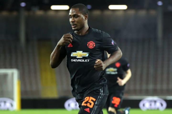 Odion Ighalo helped Man Utd thrash LASK in March 2020