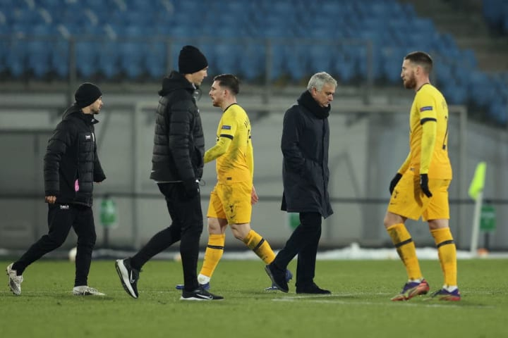 Spurs succumbed to a late goal to only record a disappointing draw in LASK on Thursday