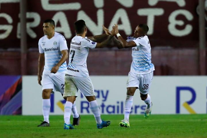 Léo Pereira Matheus Henrique Grêmio Lanús Sul-Americana