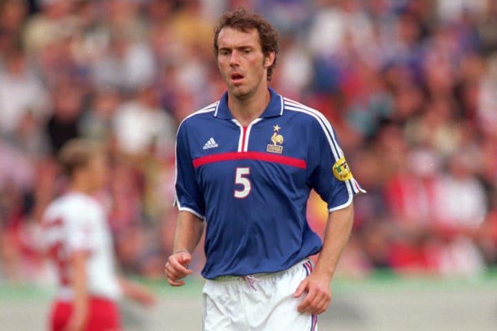 Laurent Blanc was part of France's triumphant Euro 2000 squad
