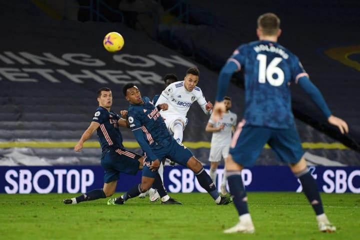 Rodrigo nearly scored after coming on