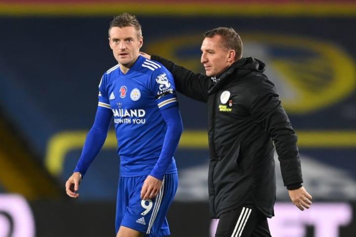 Jamie Vardy, Brendan Rodgers