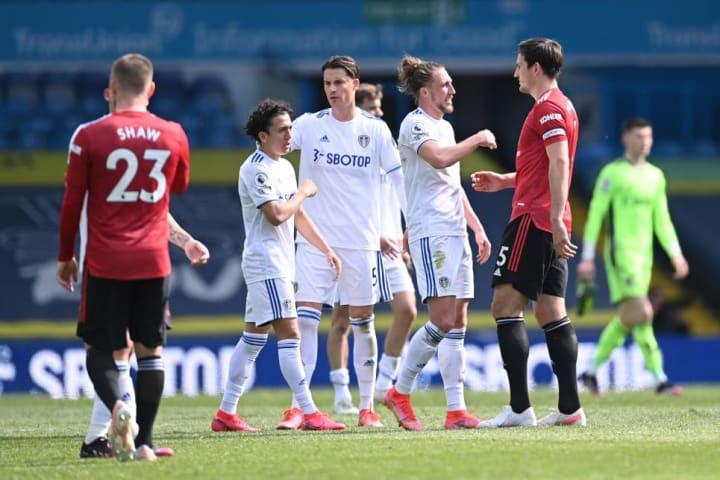 The last meeting between Leeds & Man Utd in April 2021 ended 0-0